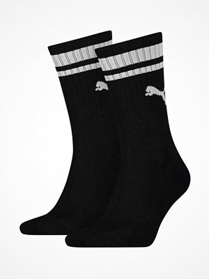 Puma 2-pack Crew Heritage Stripe Socks Black