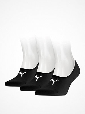 Puma 3-pack Footie Socks Black