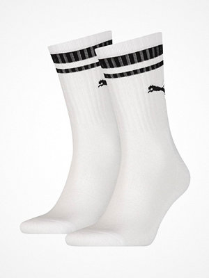 Puma 2-pack Crew Heritage Stripe Socks White