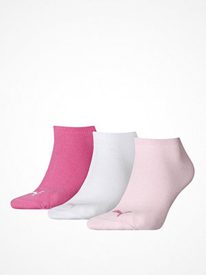 Puma 3-pack Sneaker Socks Pink/White