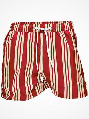 Badkläder - Resteröds Original Swimwear Red striped