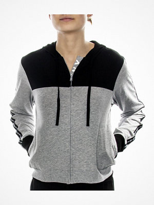 DKNY Spell It Out LS Hoodie Grey