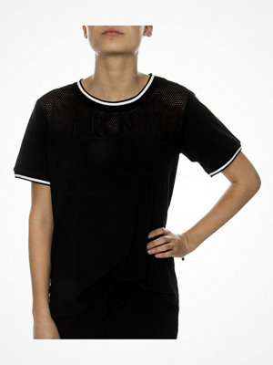 DKNY Spell It Out SS Tee Black