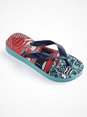 Havaianas Kids Cars Blue Pattern