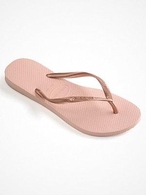 Tofflor - Havaianas Slim Lightpink