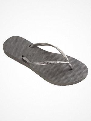 Tofflor - Havaianas Kids Slim Grey