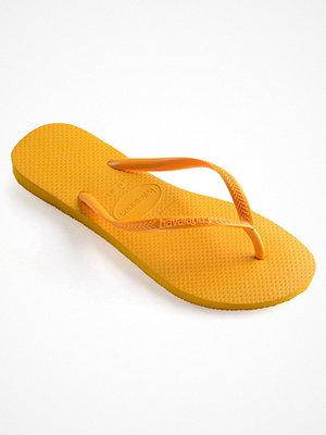 Tofflor - Havaianas Slim Mustard