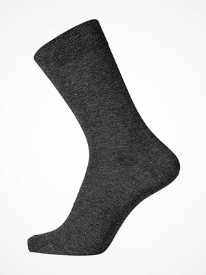 Egtved Pure Cotton Socks Darkgrey