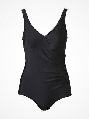 Baddräkter - Trofé Trofe Swimsuit With Overlap Black