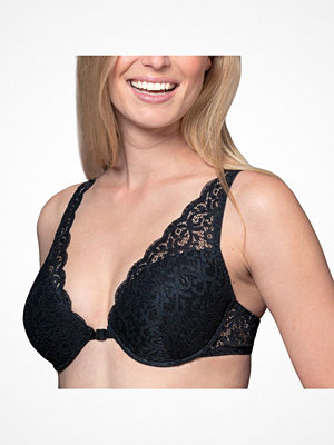 Trofé Trofe Carola Underwire Bra With Front Closure Black