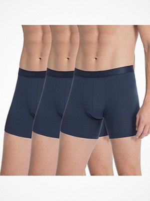 Calida 3-pack Natural Benefit Boxer Brief Darkblue