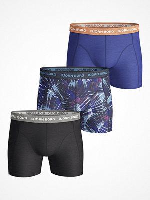 Björn Borg 3-pack Essential Summer Print Shorts Multi-colour