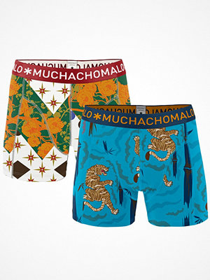 Muchachomalo 2-pack Tiger Wood Boxer Multi-colour