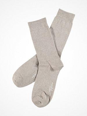 Topeco Mens Classic Socks Plain Sand