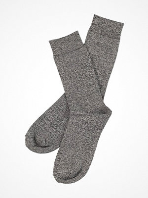 Strumpor - Topeco Mens Sock Bamboo Twisted Darkgrey