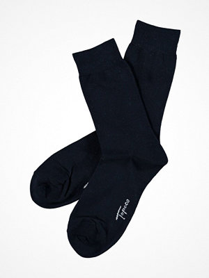 Topeco Mens Classic Socks Plain Navy-2