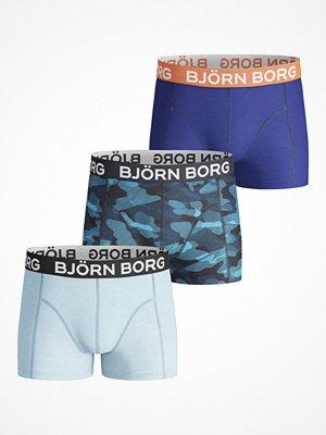Björn Borg 3-pack Shadeline Shorts For Boys  Multi-colour