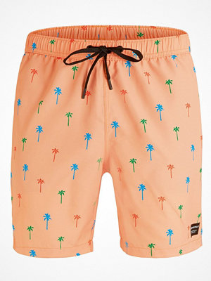Björn Borg Swim Loose Shorts Mini Palm Apricot