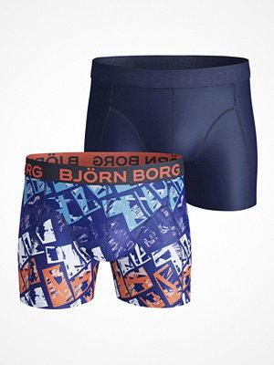 Björn Borg 2-pack Lightweight Microfiber Print Shorts Multi-colour