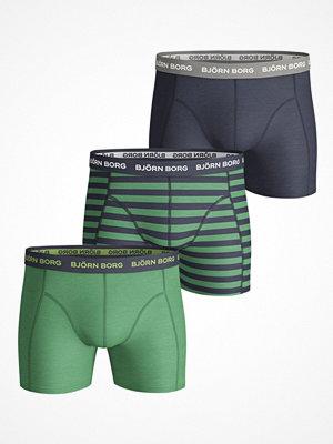 Kalsonger - Björn Borg 3-pack Essential Stripe Pattern Shorts  Multi-colour