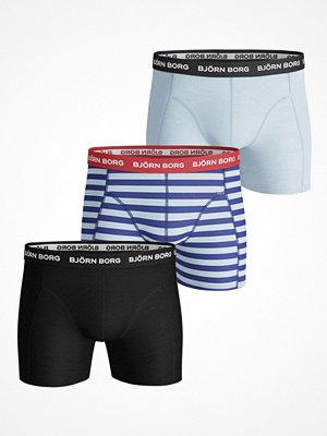 Kalsonger - Björn Borg 3-pack Essential Stripe Pattern Shorts  Pattern-2