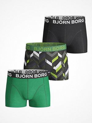 Kalsonger - Björn Borg 3-pack Zig Zag Shorts For Boys  Multi-colour