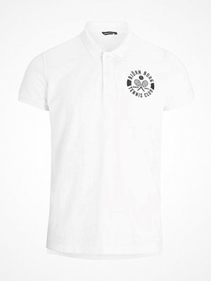 T-shirts - Björn Borg Tennis Club Summer Polo  White