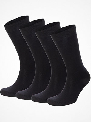 Topeco 4-pack Mens Socks Plain  Navy-2