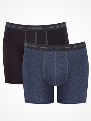 Sloggi 2-pack Men Start Short C2P Darkblue