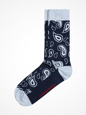 Strumpor - Björn Borg Paisley Socks Blue Pattern