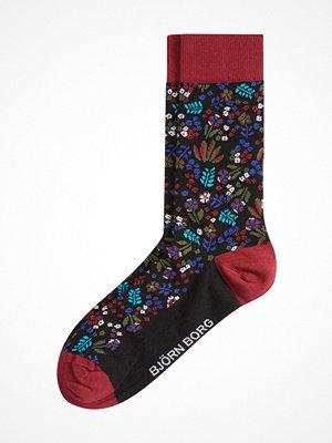 Björn Borg NY Tiny Flower Socks Black pattern-2