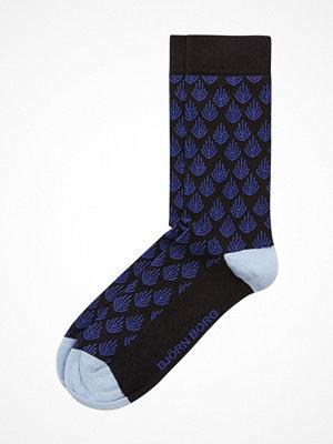 Strumpor - Björn Borg Coral Socks Blue Pattern