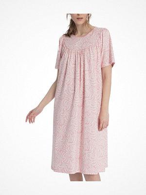 Nattlinnen - Calida Soft Cotton Nighdress 34000  Pink Pattern