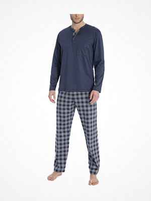Calida Quentin Pyjama Navy Checked