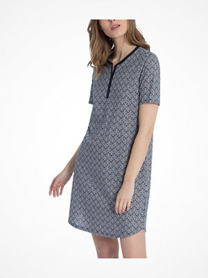 Calida Enya Sleepshirt  Blue Pattern