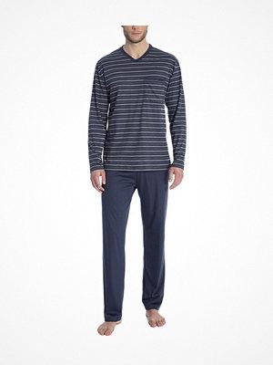 Pyjamas & myskläder - Calida Ferris Pyjama Navy-2