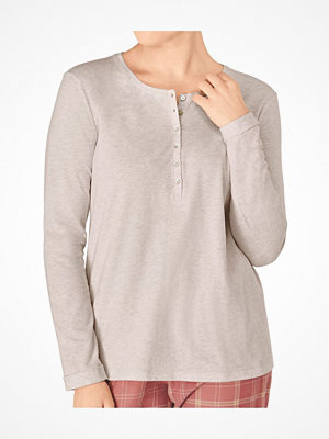Pyjamas & myskläder - Triumph Everyday Mix and Match LSL Top 01 Beige
