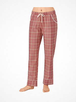 Pyjamas & myskläder - Triumph Everyday Mix and Match Trousers Check Red Pattern-2