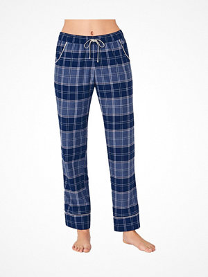 Pyjamas & myskläder - Triumph Everyday Mix and Match Trousers Check Blue Pattern