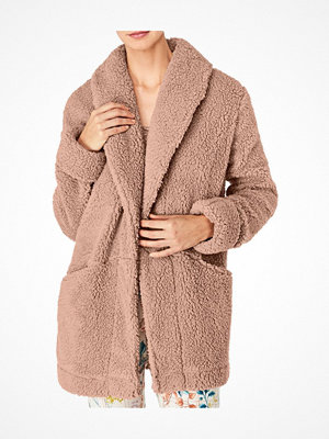 Pyjamas & myskläder - Triumph Everyday Mix and Match Coat Robe Beige