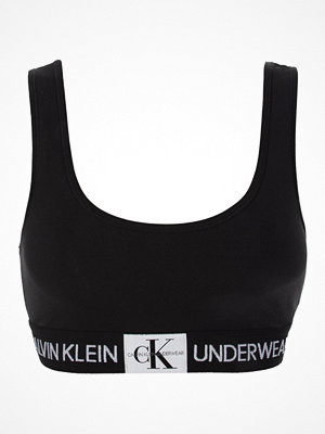 Calvin Klein Monogram Unlined Bralette Black