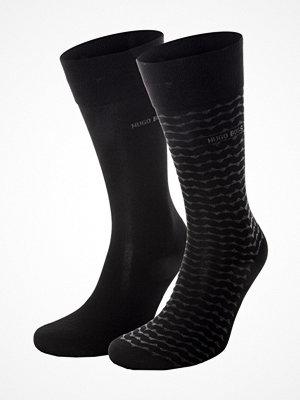 Strumpor - Hugo Boss 2-pack RS Stripe Socks Black