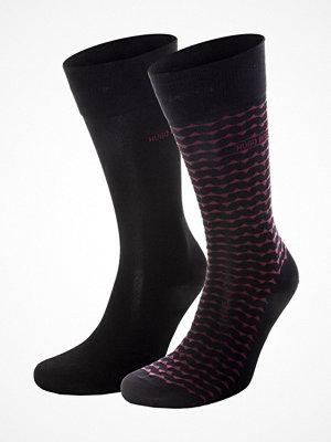 Strumpor - Hugo Boss 2-pack RS Stripe Socks Darkblue