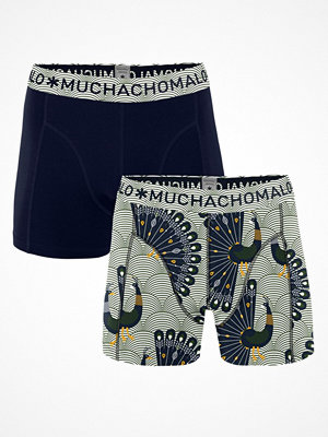 Muchachomalo 2-pack Proud Boxer Blue Pattern