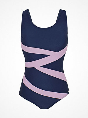 Abecita Twist Swimsuit Blue/Pink