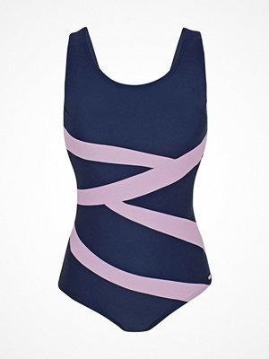 Baddräkter - Abecita Twist Swimsuit Blue/Pink