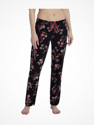 Pyjamas & myskläder - Calida Favourites Trend 5 Pants Black pattern-2