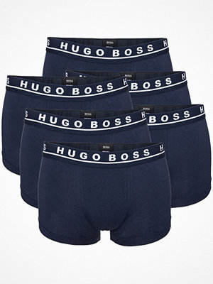 Hugo Boss 6-pack Cotton Stretch Boxers Darkblue