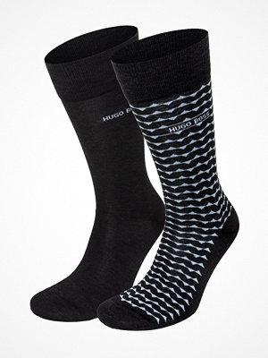 Strumpor - Hugo Boss 2-pack RS Stripe Socks Darkgrey