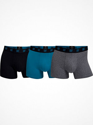 CR7 Cristiano Ronaldo 3-pack Men Trunk Black/Grey